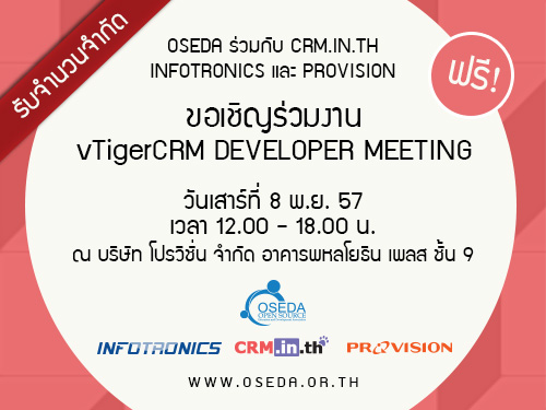 vTigerCRM Meeting