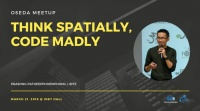 เสร็จสิ้นงาน OSEDA Meetup - Think spatially, Code madly